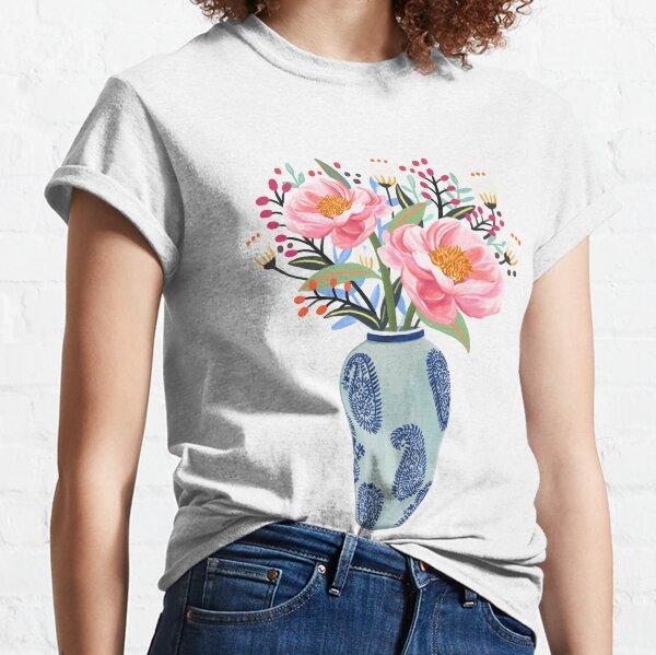 Vase Illustration Classic T-Shirt