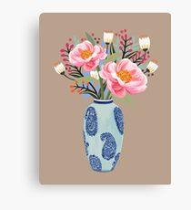 Vase Illustration Canvas Print