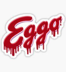 Pegatina Eggo Logo Stranger Things Edition