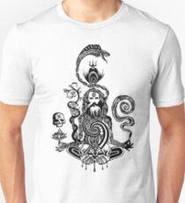 Pray black and white Unisex T-Shirt