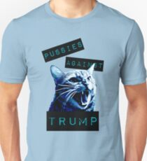 Pussies Against Trump Impact T-Shirt