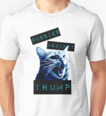 Pussies Against Trump Impact Unisex T-Shirt