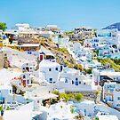 Oia village (Santorini) by elenkalo