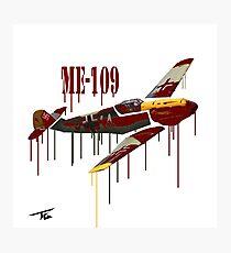 ME-109 Photographic Print
