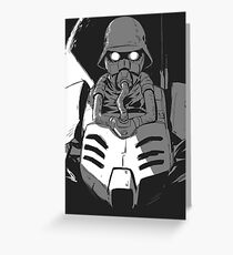 Jin-Roh Greeting Card