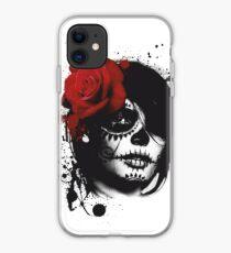 Trash polka woman iPhone Case