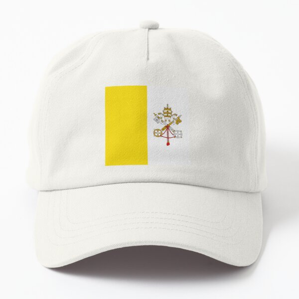 Flag of the Vatican City Dad Hat