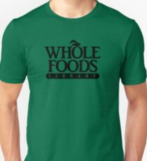 I believe this ams called a foods library T-Shirt