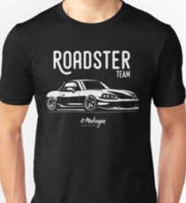 Roadster team. Mazda MX5 Miata (NB) Unisex T-Shirt