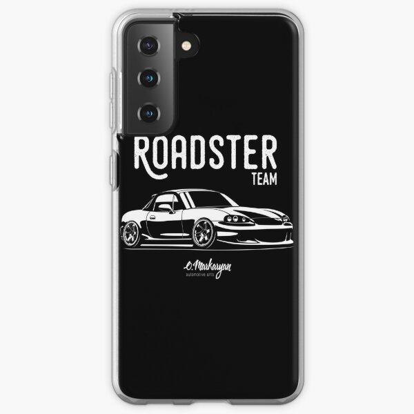 Roadster team. MX5 Miata (NB) Samsung Galaxy Soft Case