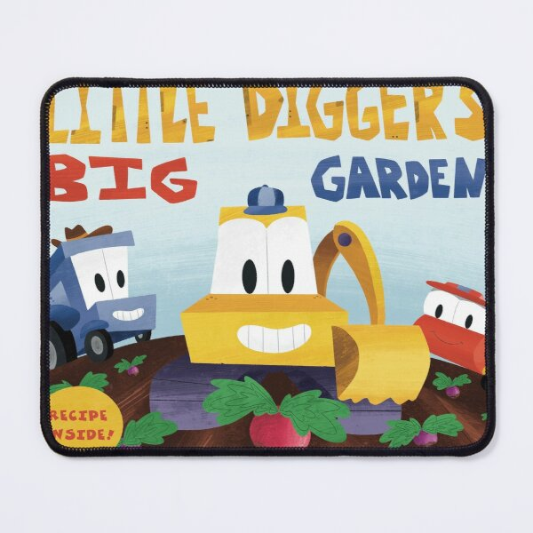 Little Digger's Big Garden  Mouse Pad