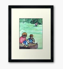 Wildago's Sandbox Kids Framed Print