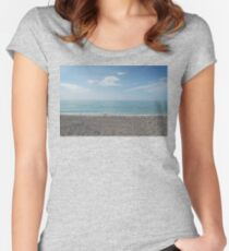 Venice Beach Birds Women's Fitted Scoop T-Shirt