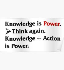 Knowledge is Power... Poster