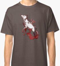 Esprit loup - flammes rouges Classic T-Shirt
