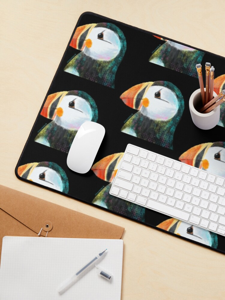 Alternate view of Puffin Mouse Pad