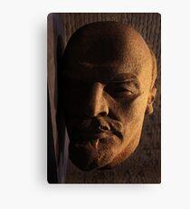 lenin, lenin head, monument Canvas Print
