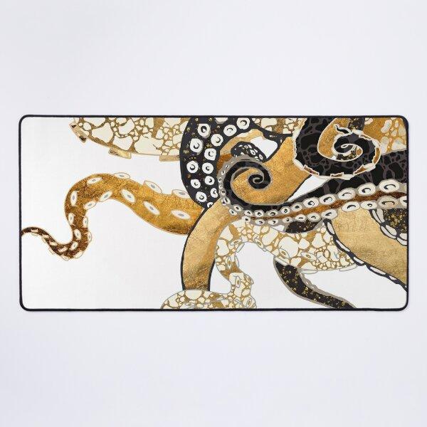 Metallic Octopus Desk Mat
