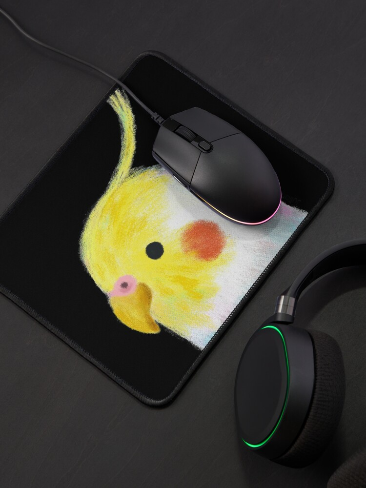 Alternate view of Cockatiel Bird Mouse Pad
