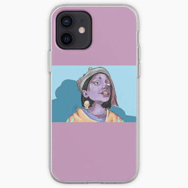 Horror clown iPhone Soft Case