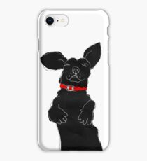 red collar iPhone Case/Skin