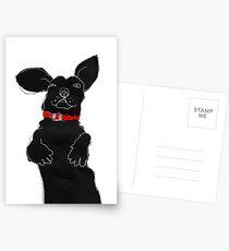 red collar Postcards