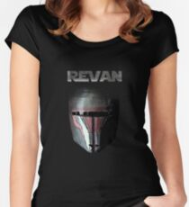 Star Wars: Knights of the Old Republic | Darth Revan Women's Fitted Scoop T-Shirt