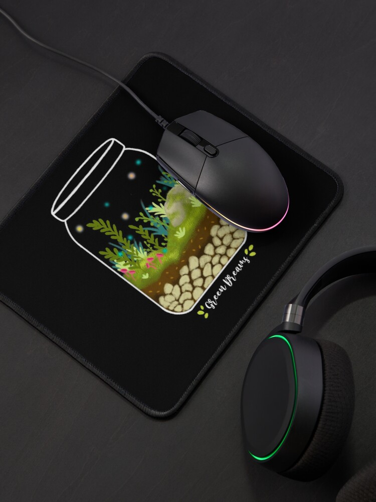 Alternate view of Green Dreams Mouse Pad
