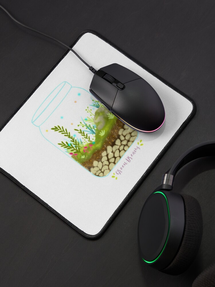 Alternate view of Green Dreams - Version 1 Mouse Pad