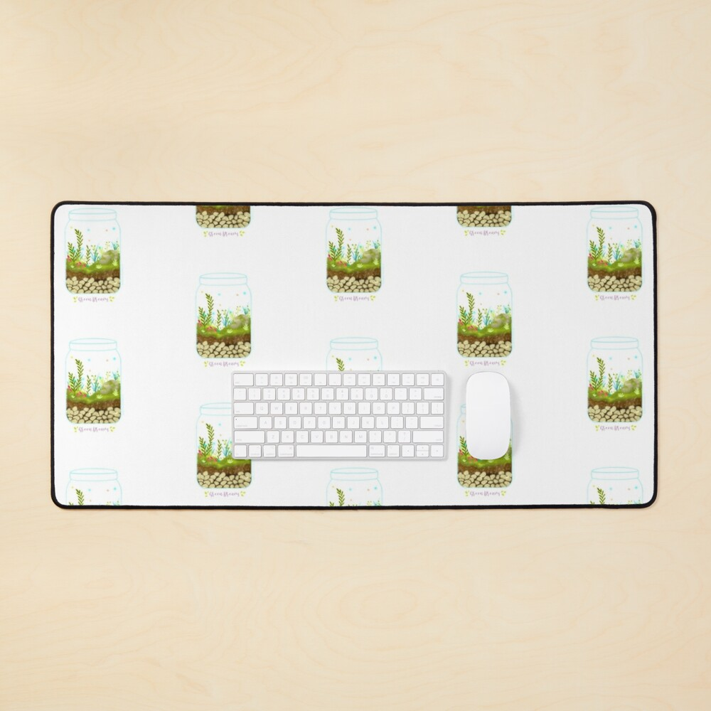 Green Dreams - Version 1 Mouse Pad