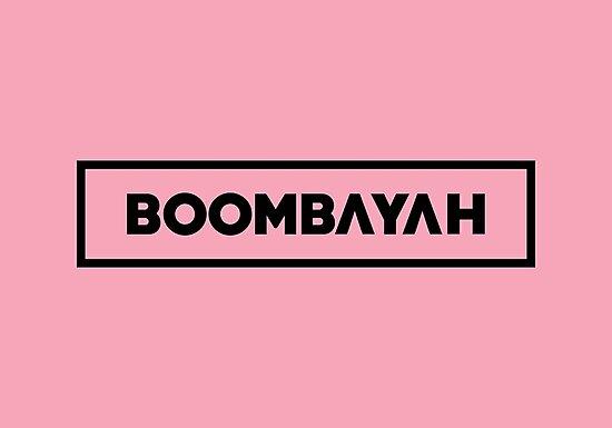 Black Pink Boombayah Kpop Merch Kpop Shirt Kpop Mugs Kpop Stickers Women Tees Korean Group Photographic Print By Printingseoul Redbubble