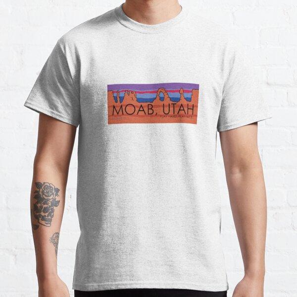 Moab, Utah! Play Hard, Play Nice. Classic T-Shirt