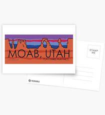 Moab, Utah! Play Hard, Play Nice. Postcards