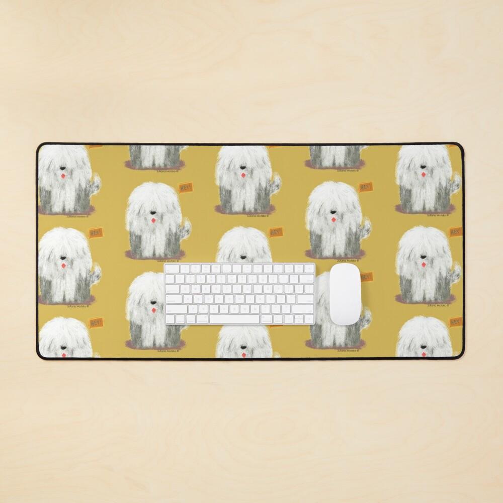 Old English Sheepdog Mouse Pad