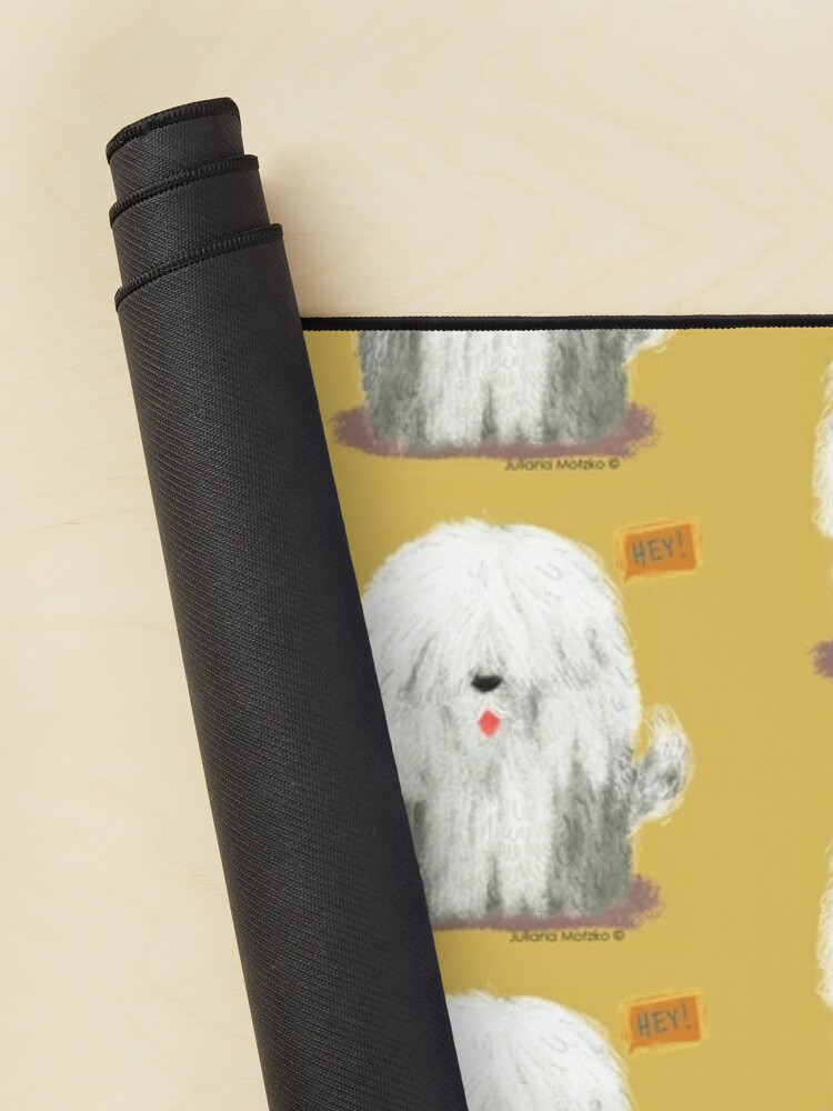 Alternate view of Old English Sheepdog Mouse Pad