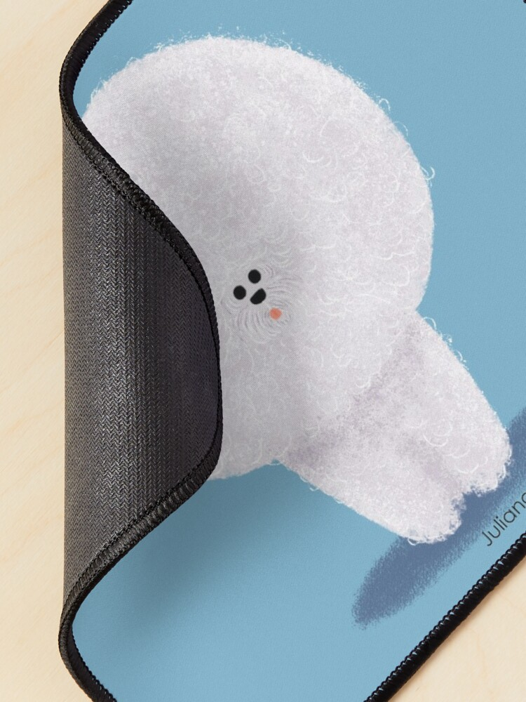 Alternate view of Bichon Frise  Mouse Pad