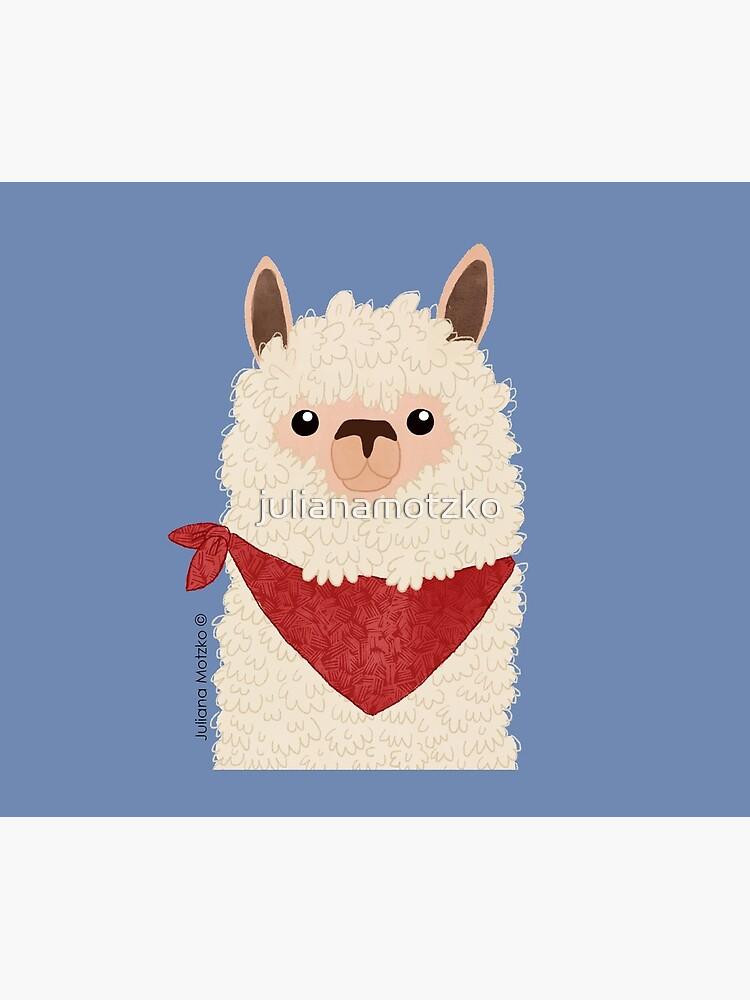 Llama by julianamotzko