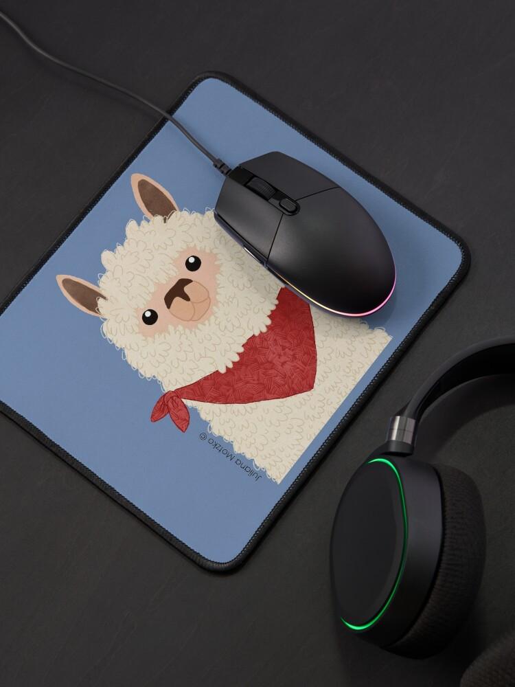 Alternate view of Llama Mouse Pad