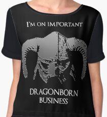 Skyrim | Dragonborn Business Women's Chiffon Top