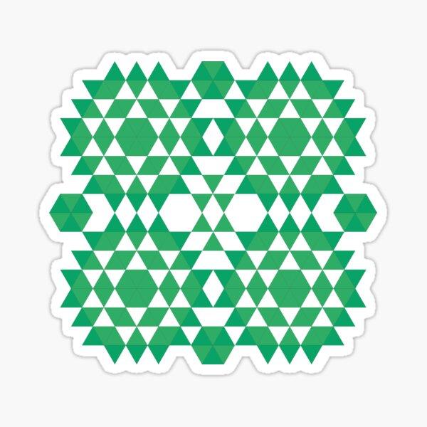 Green jungle Sticker