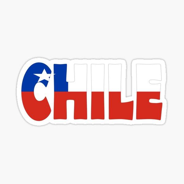 Chile Pegatina