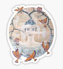 Wisteria tree Sticker