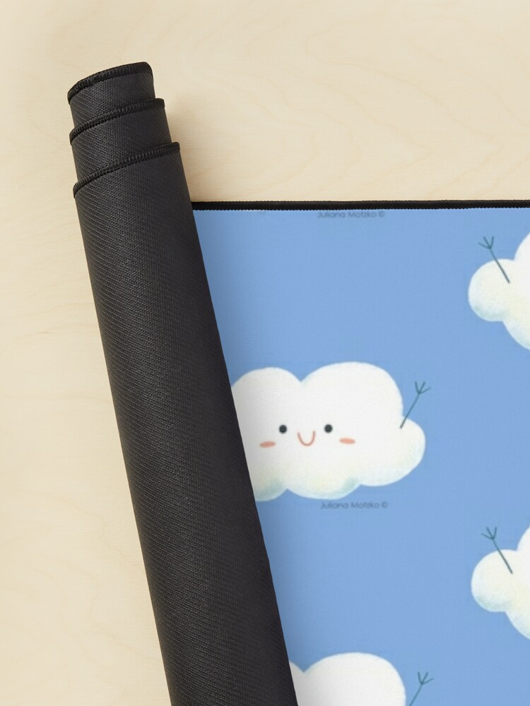 Alternate view of Happy Hug Cloud Mouse Pad