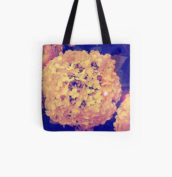 Secret Garden | Hydrangea Snowball All Over Print Tote Bag