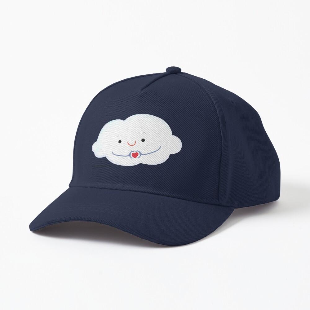 Cloud doing a heart with hands Cap