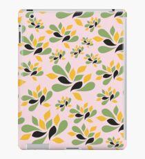 Vintage Pink Garden texture iPad Case/Skin