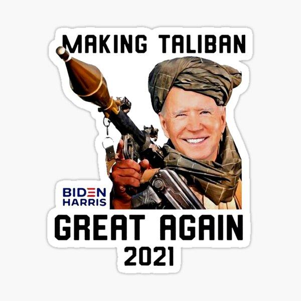 Making Taliban Great Again 2021 Sticker