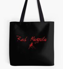 Red Mosquito Tote Bag