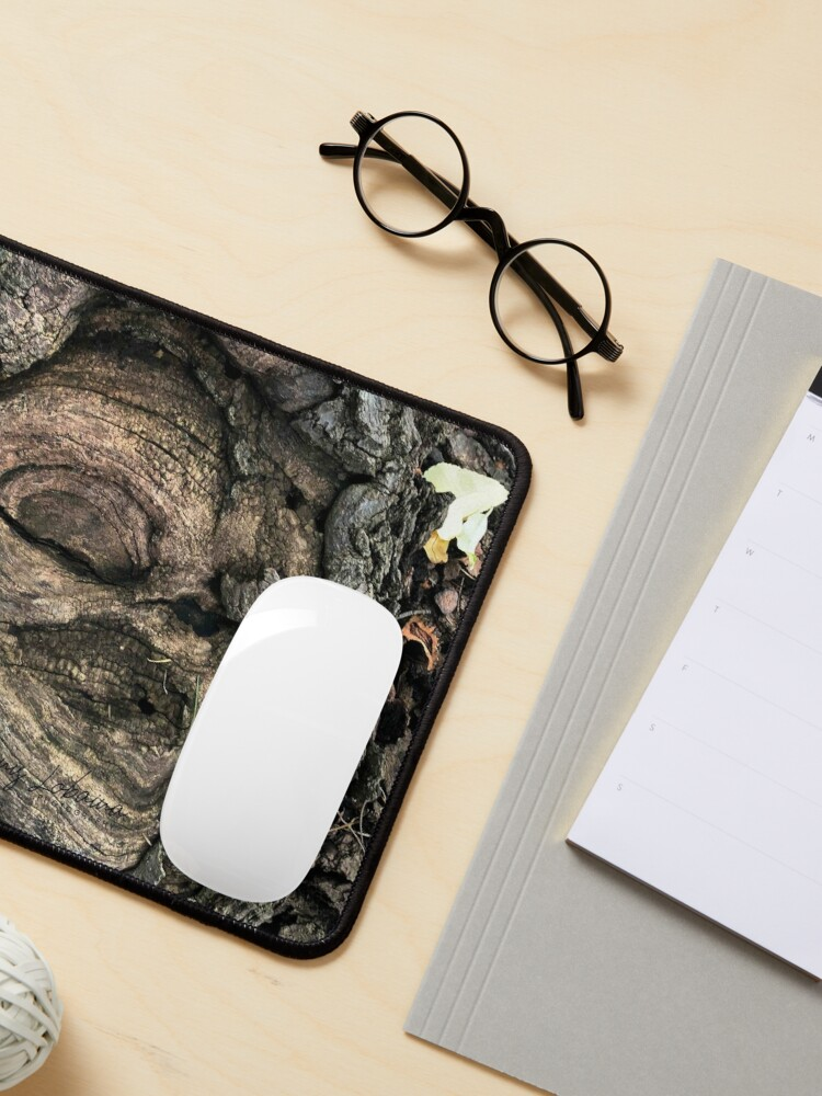 Alternate view of FEMALE SPIRIT AN OAK TREE By Yannis Lobaina  Mouse Pad