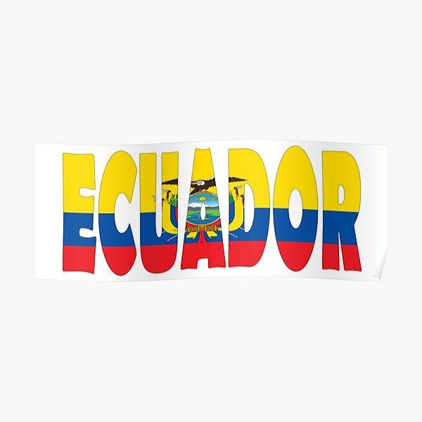 Ecuador Póster